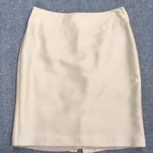 Talbots Cream Skirt